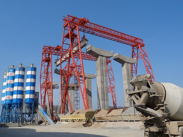 DCS 80t - 34m / 36m Industrial Bridge And Gantry Crane For Mining Maintenance