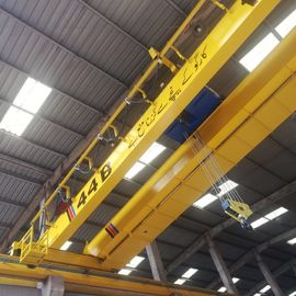 10T Workshop Double Girder Eot Crane , Travelling Bridge Crane With LED Load Displayer