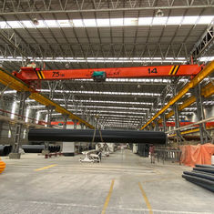 Electric Traveling Single Girder Overhead Cranes Capacity 7.5m Span 20m Lifting Height 6m