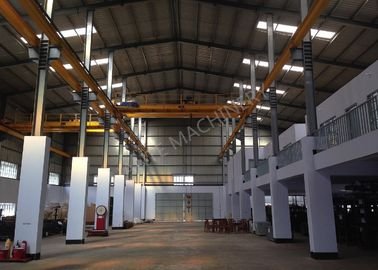 Double Girder Overhead Bridge Cranes Capacity 20Ton Span 14m for Steel processing plant